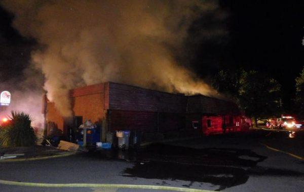 Fire damages Miller's Homestead Restaurant