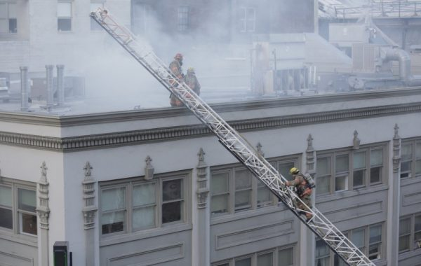 Dozens Of People Displaced After Hotel Alder Fire
